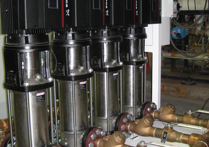 VCU Booster Pumps