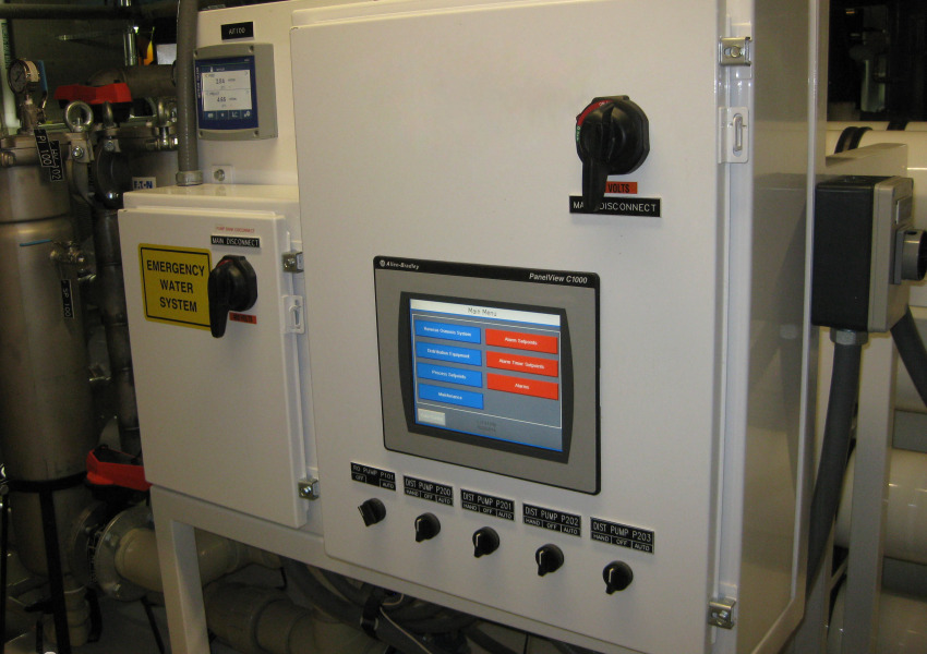 VCU Programable Logic Controller-PLC and Electrical Disconnect Unit